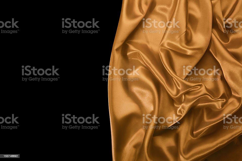 Smooth silky drapery royalty-free stock photo