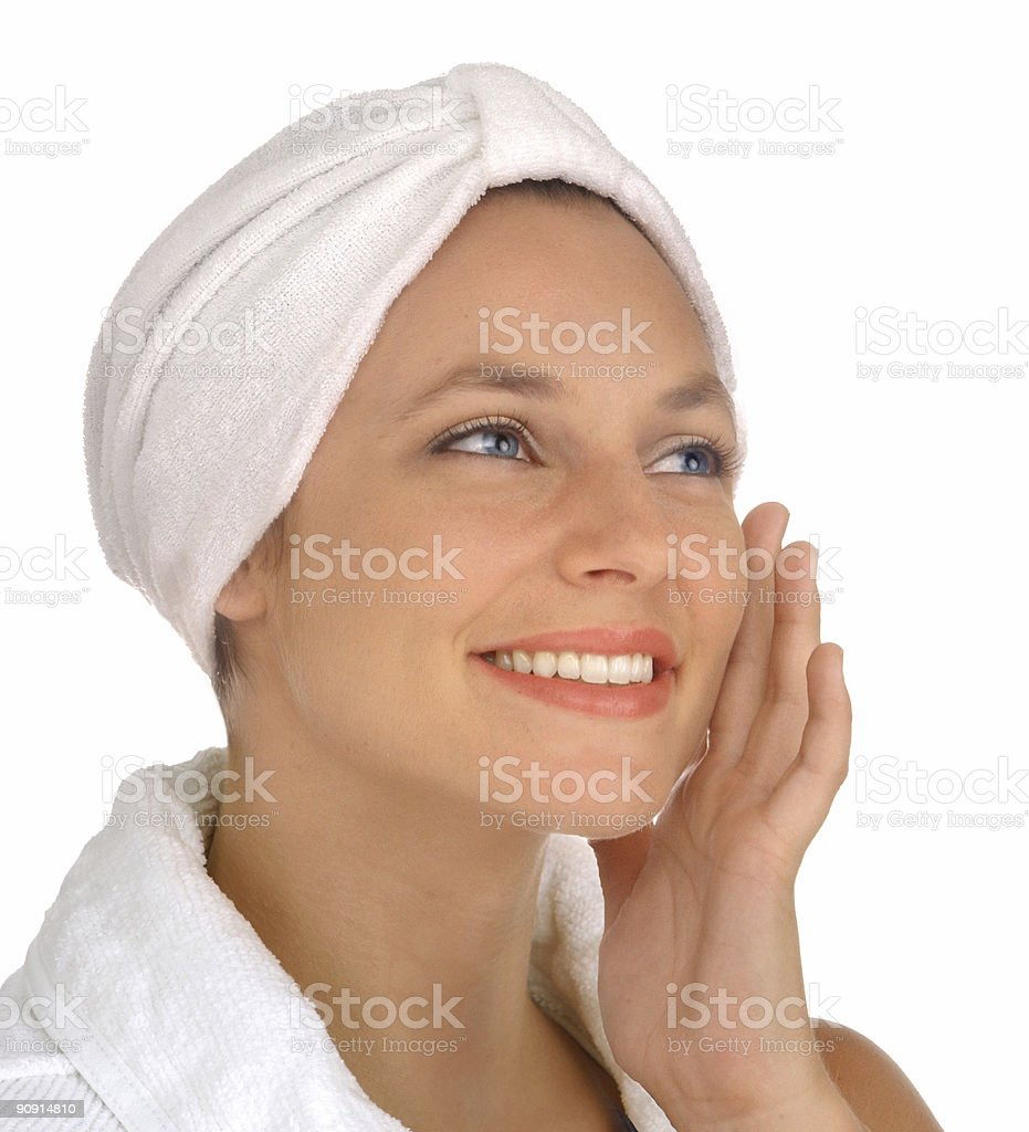 smooth skin royalty-free stock photo