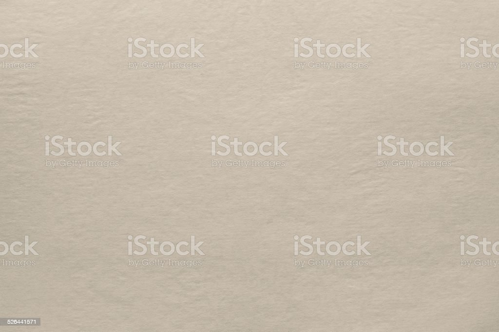 smooth texture blank paper of light beige color stock photo