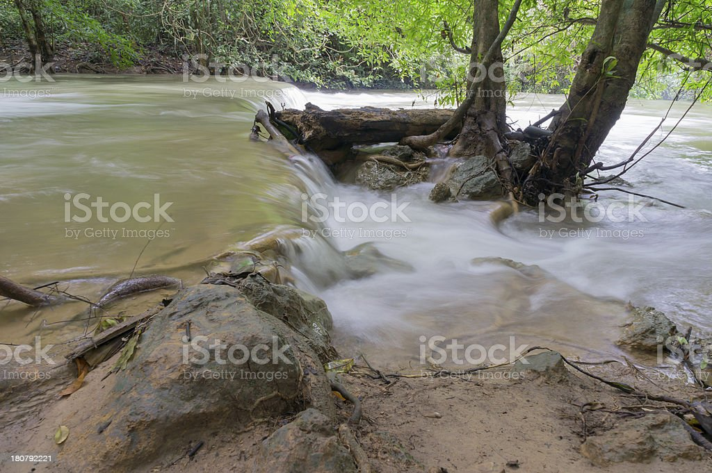 Smooth water royalty-free stock photo