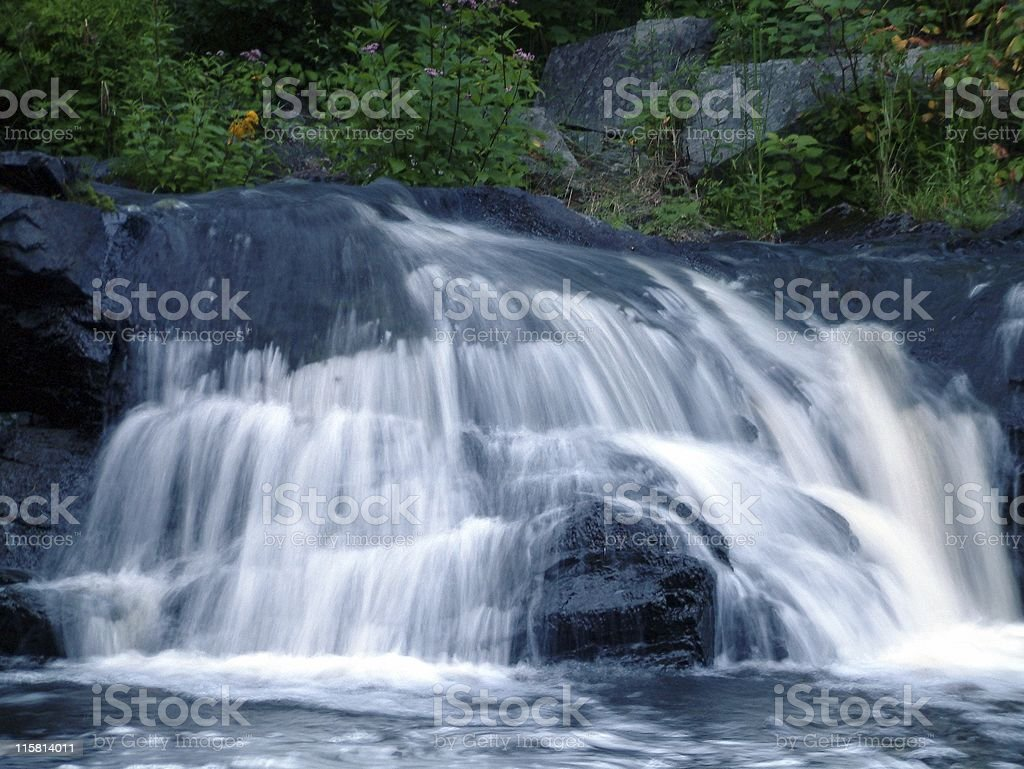 Smooth Waterfall royalty-free stock photo
