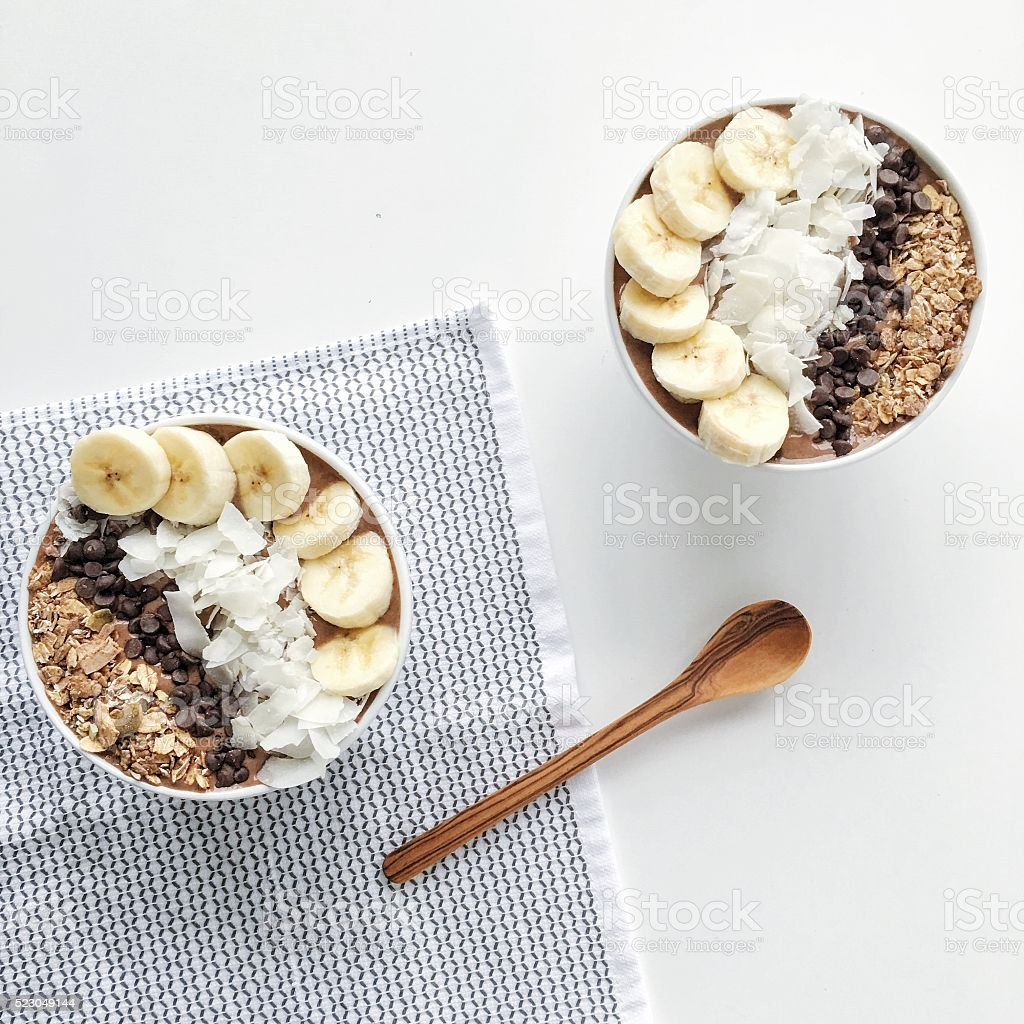 Smoothie Bowl stock photo