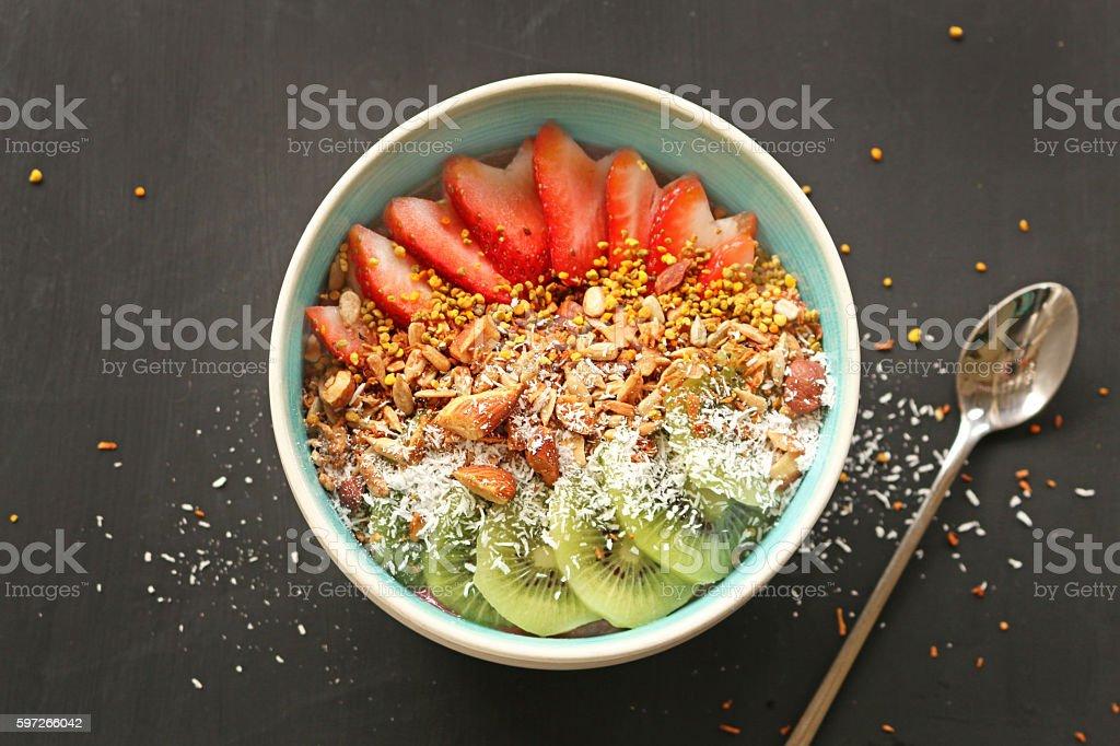 Smoothie bowl royalty-free stock photo