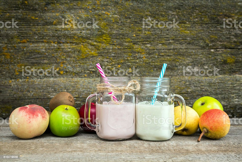 smoothies, healthy eating stock photo