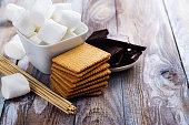 istock Smores dessert ingredients 841836134