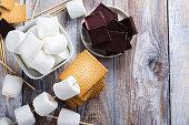 istock Smores dessert ingredients 841836200