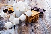 istock Smores dessert ingredients 841836264