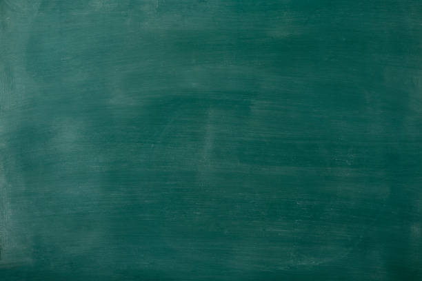 Smudged blank blackboard texture background stock photo
