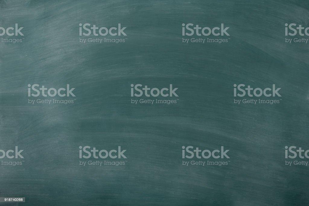 Smudged blank blackboard texture stock photo