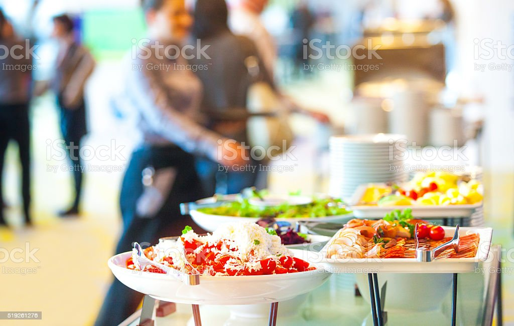 Snack in der Konferenz-Kaffeepause – Foto