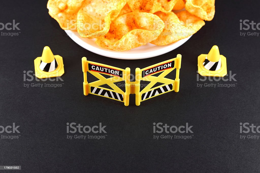 Snack Barrier royalty-free stock photo