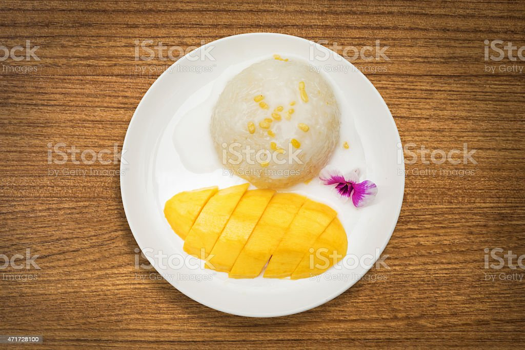 Snack food in Thailand stock photo