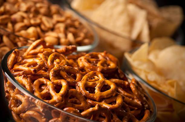 Snack Food stock photo
