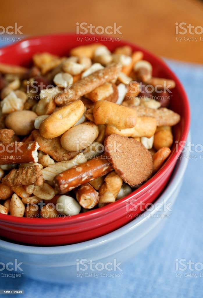 snack mix royalty-free stock photo