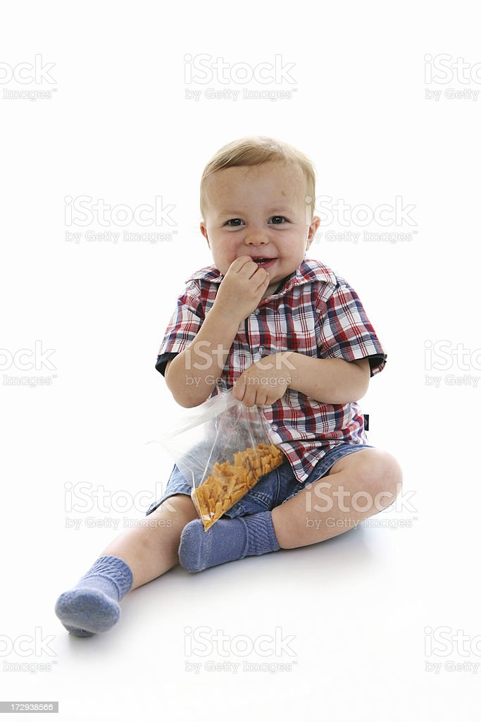 Snack time stock photo