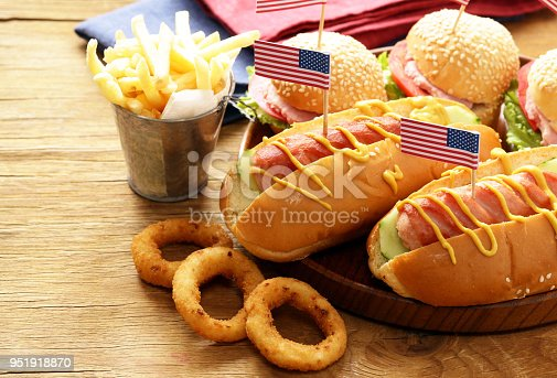 531564432 istock photo Snacks for Independence Day 951918870