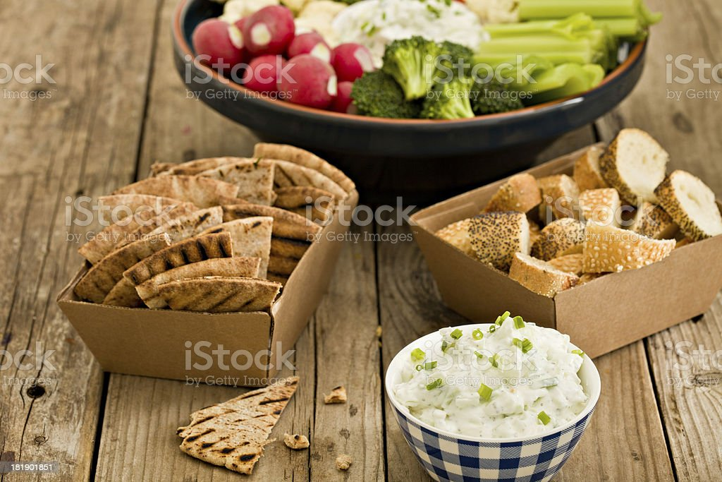 Snacks royalty-free stock photo