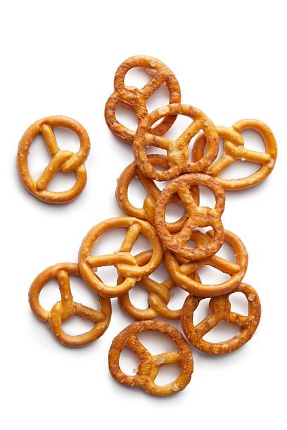 snacks: pretzel - 椒鹽蝴蝶圈 個照片及圖片檔