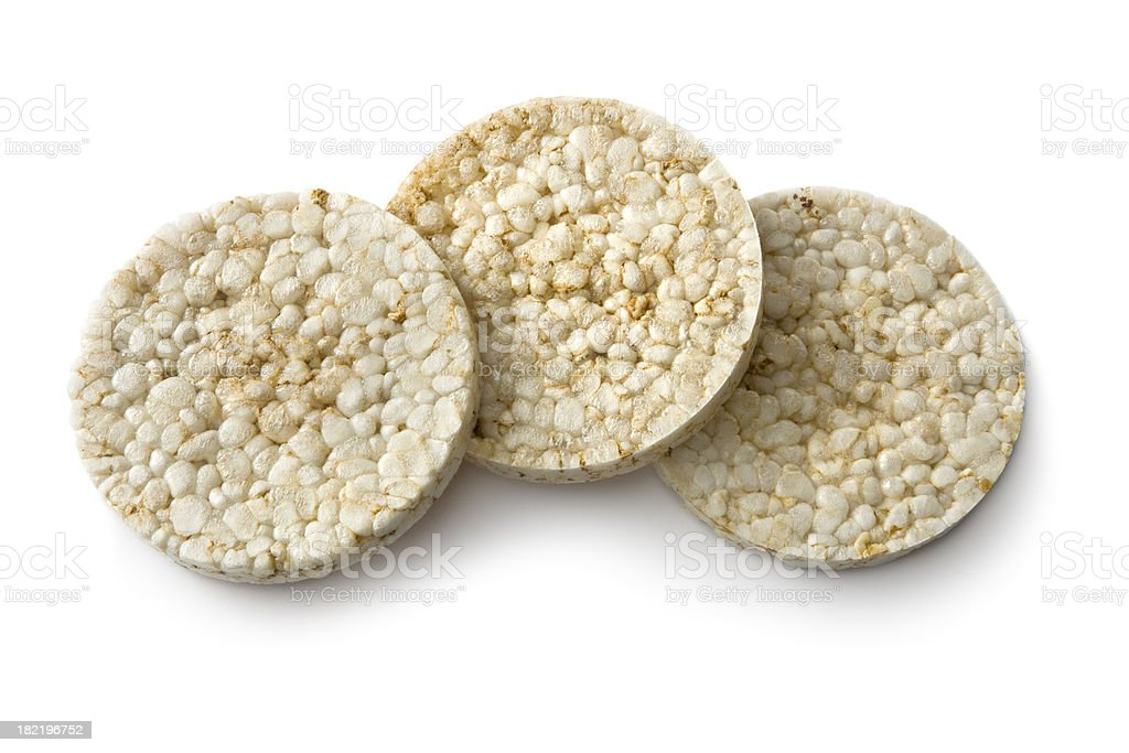 Snacks: Rice Cake royalty-free stock photo
