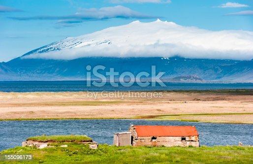 istock snaefellsjökull glacier, iceland 155096173