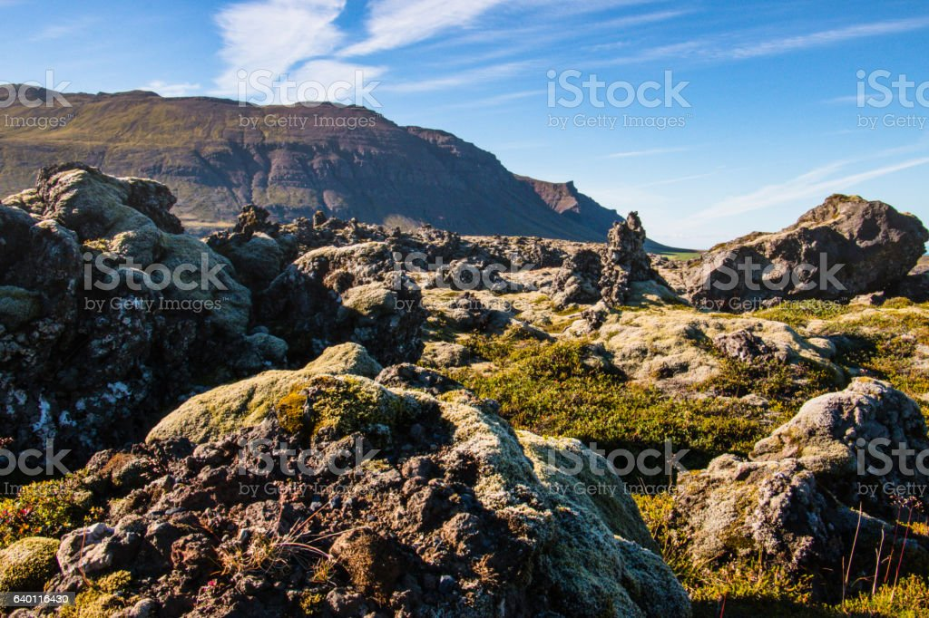 Snaefellsnes, Iceland stock photo