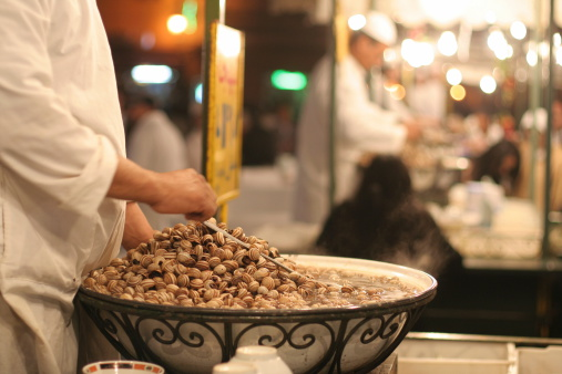Snail Soup In Djemaa El Fna Stock Photo - Download Image Now