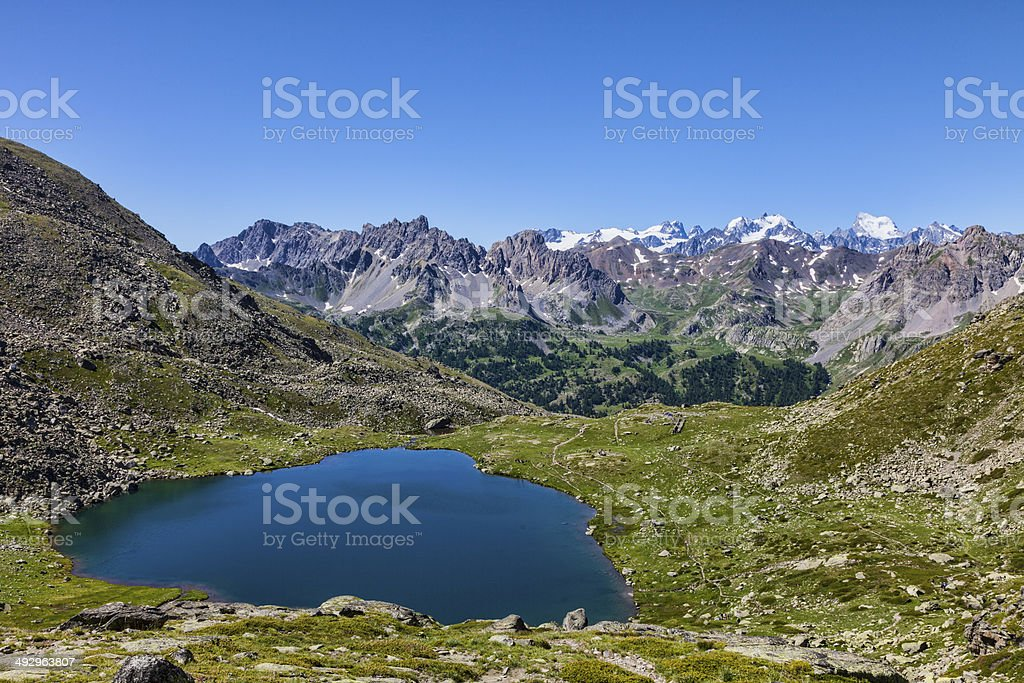 Snake Lake (Lac du Serpent) stock photo