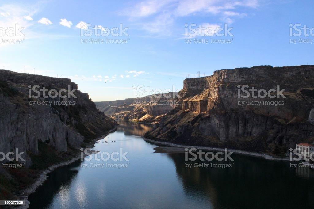 snake River Canyon 3 stock photo