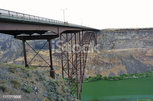 view of the Snake River Canyon