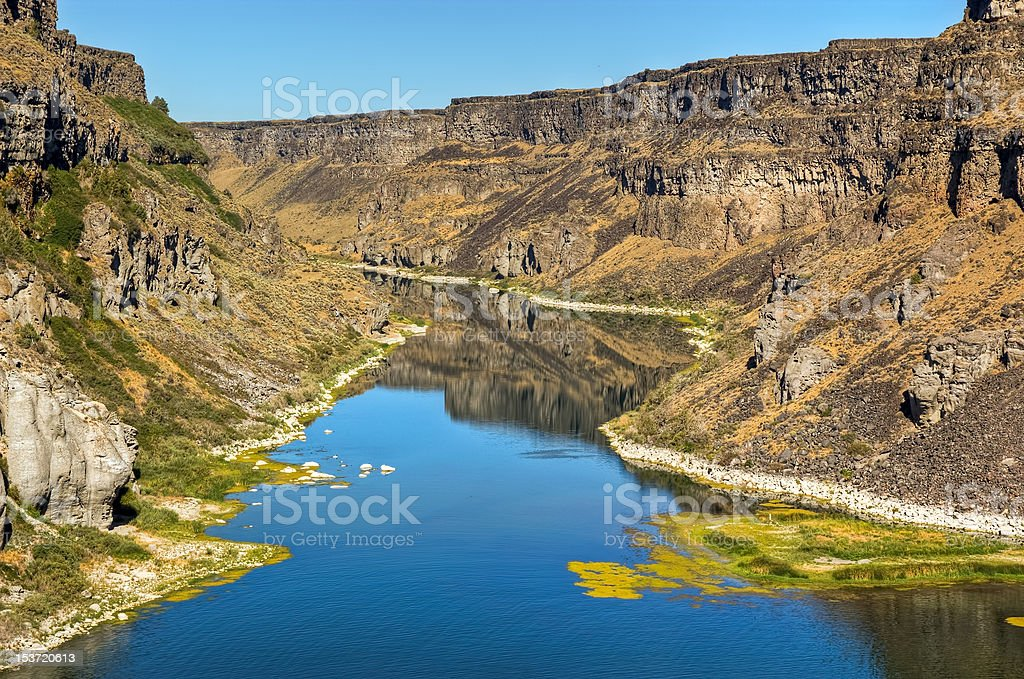Snake River Canyon stock photo