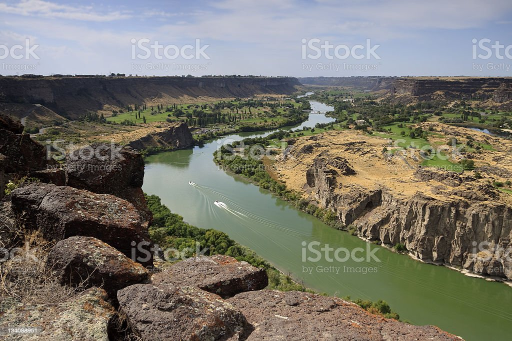 Snake River Gorge royalty-free stock photo