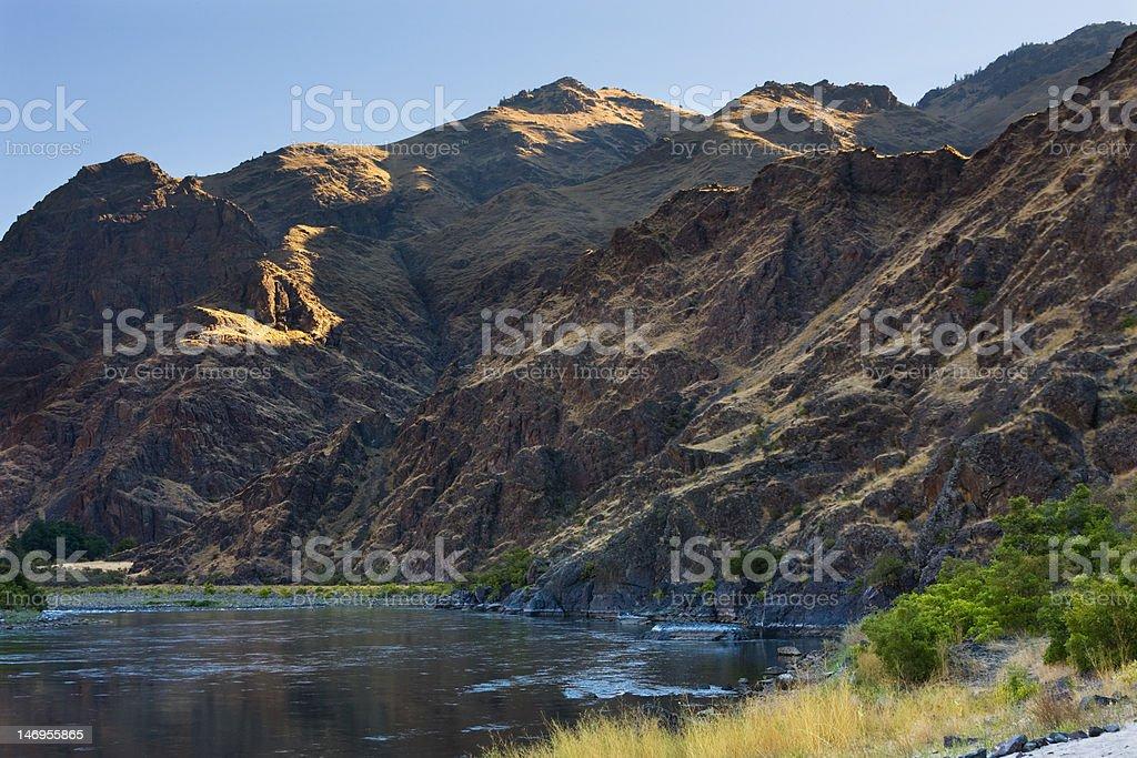 Snake River morning royalty-free stock photo