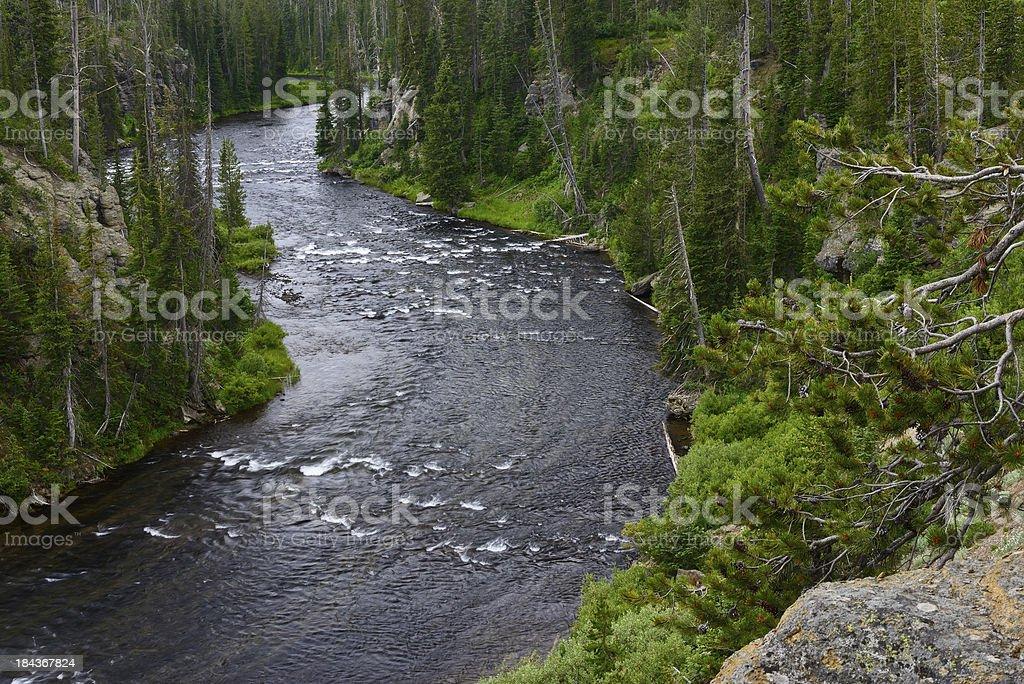Snake River stock photo