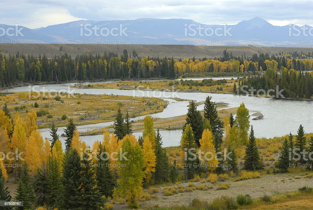Snake River royalty-free stock photo