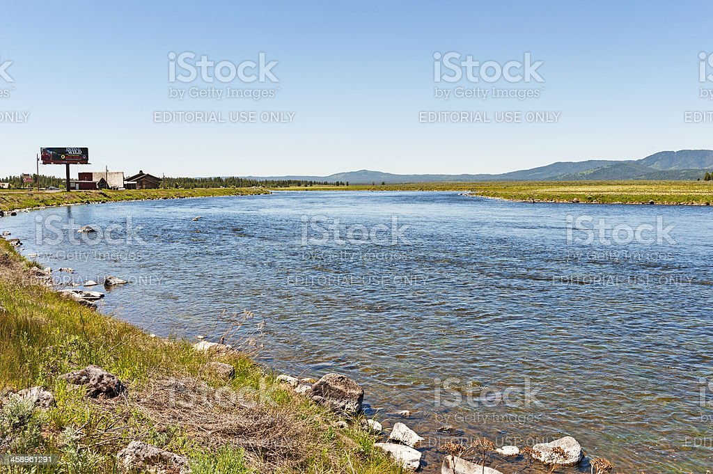 Snake River Sites stock photo