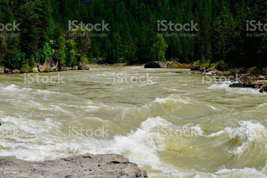 Snake River, Wyoming stock photo