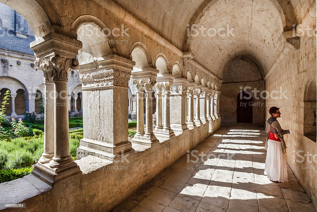 Sénanque Abbey - France stock photo