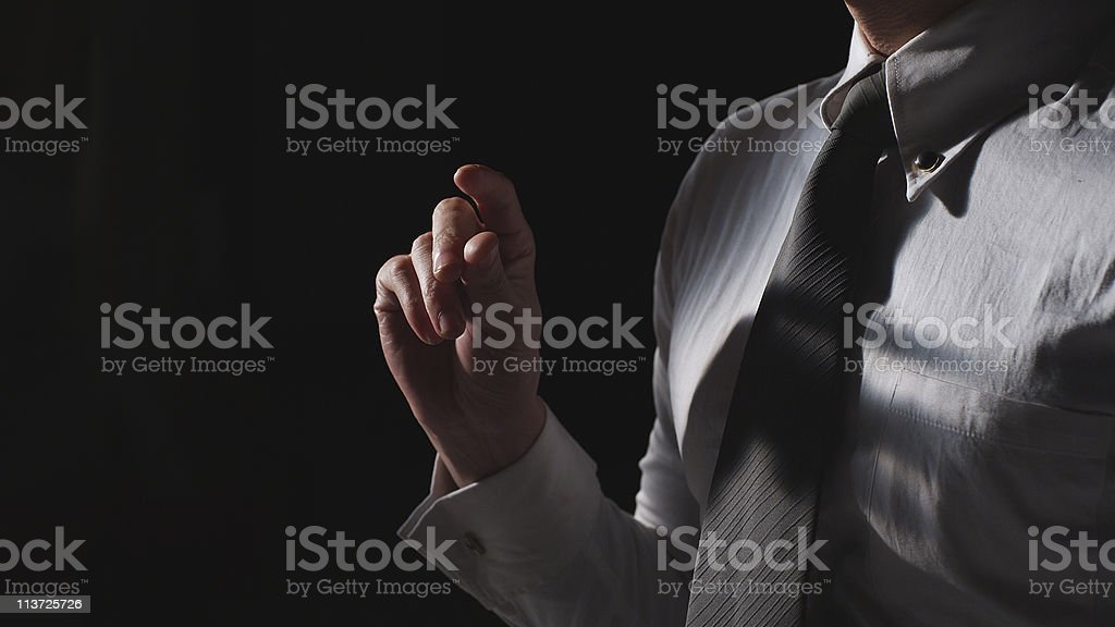 snapping fingers stock photo