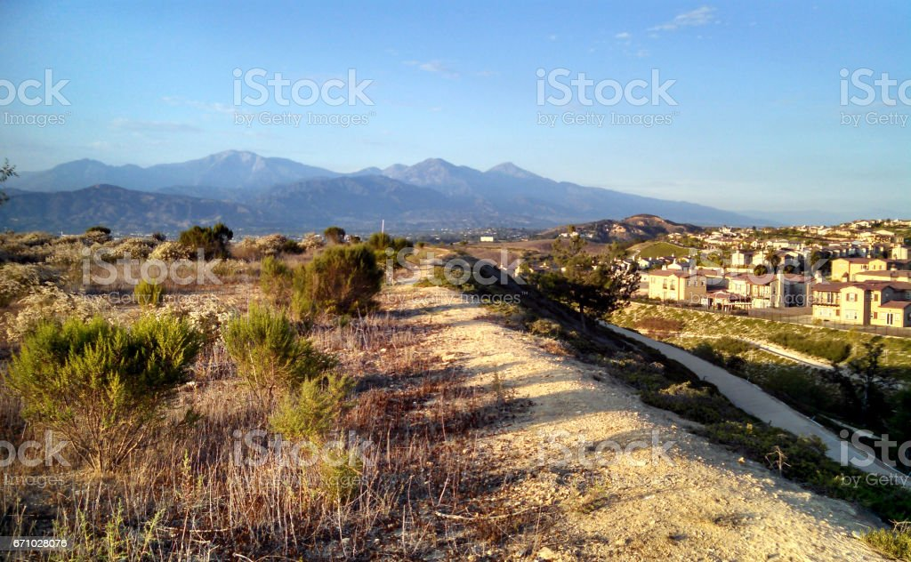 A Snapshot of the Suburb stock photo