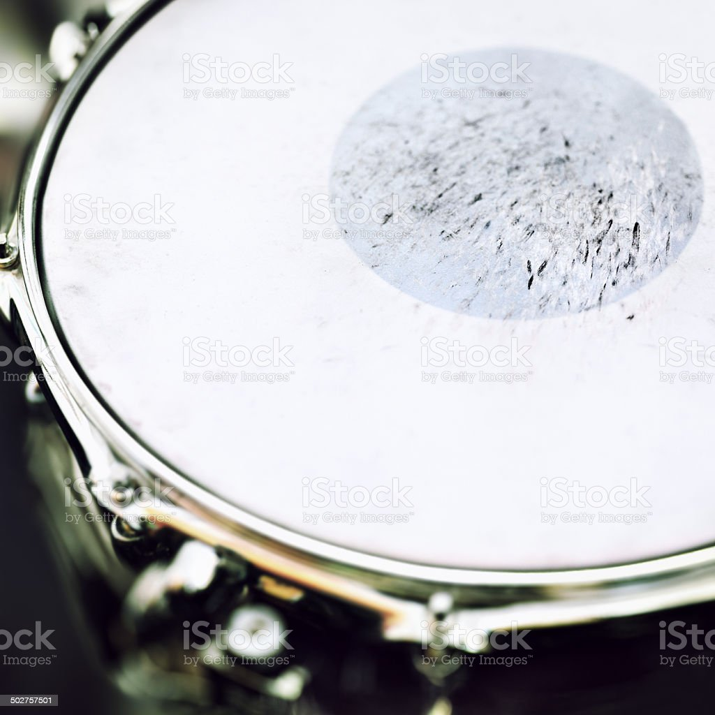Snare Drum Background stock photo