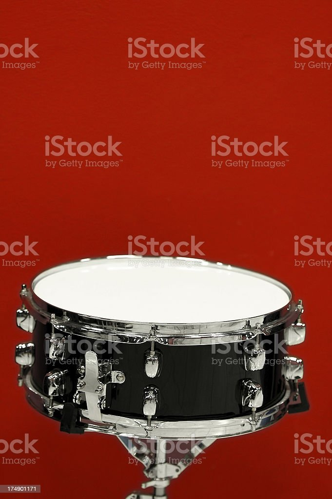 Snare drum (isolated) stock photo