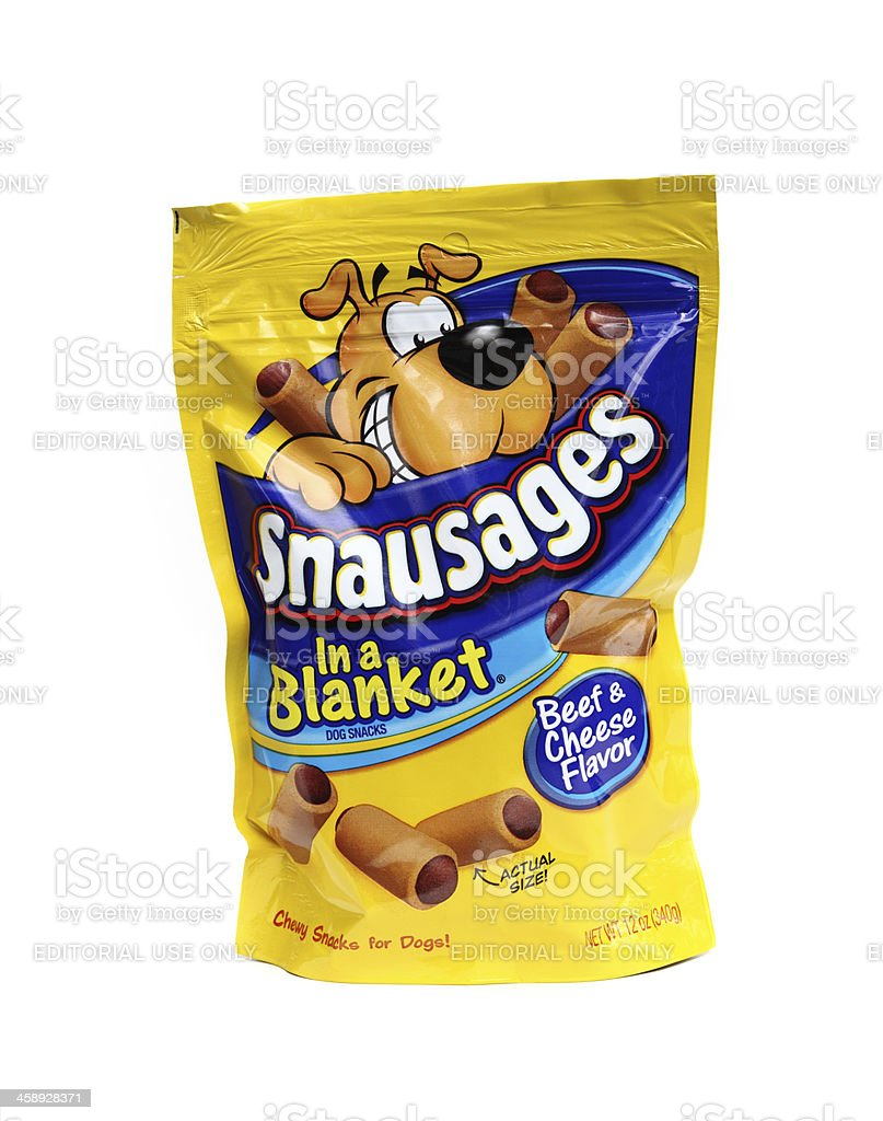 Snausages dog treats royalty-free stock photo
