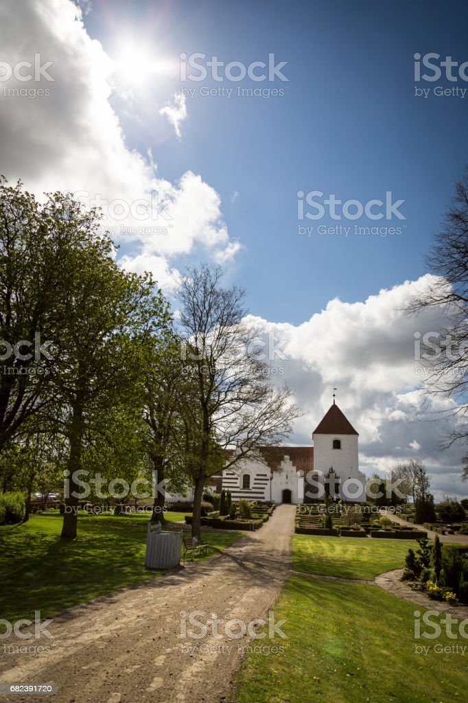 Søndersø Kirke foto stock royalty-free