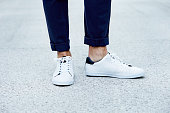 istock Sneaker close up 615085330