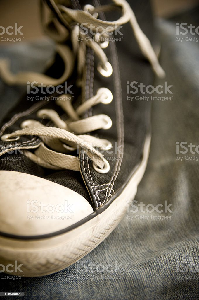 Sneakers & Jeans stock photo