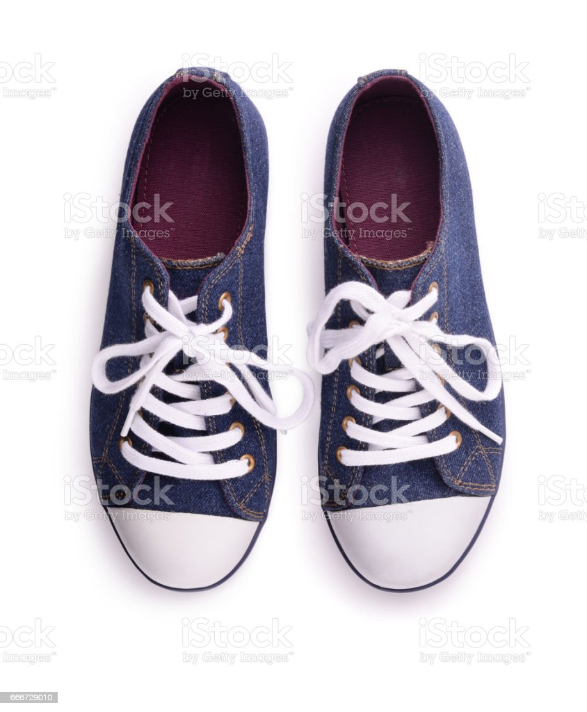 Sneakers stock photo