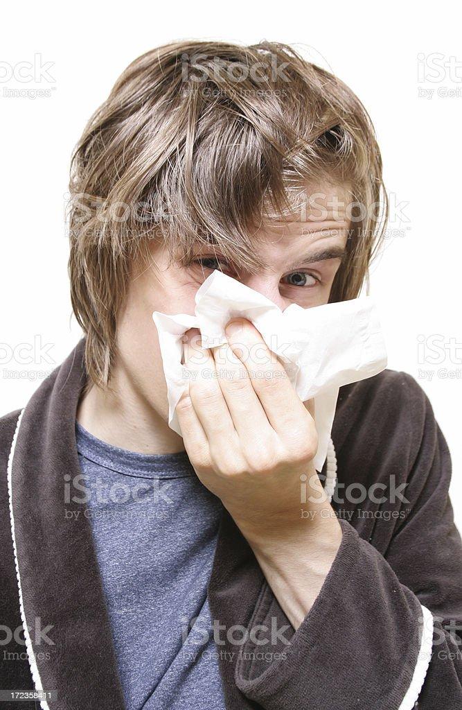 Sneeze que cosa! foto de stock libre de derechos