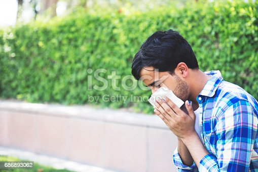 629307146istockphoto Sneezing is too painful, I hate my allergies. 686893062