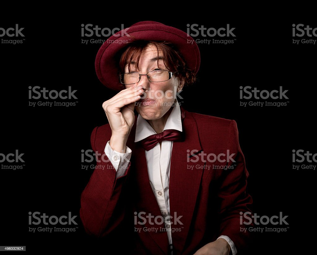 Sniffer stock photo