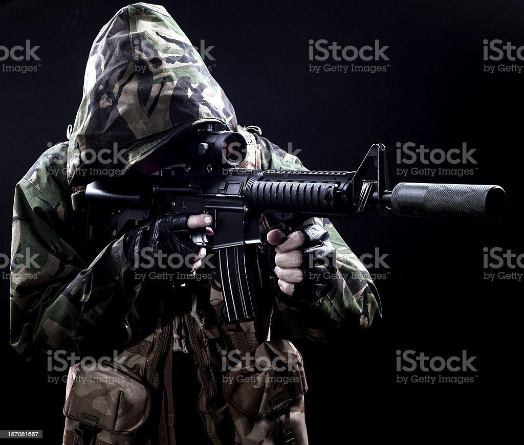 Sniper royalty-free stock photo